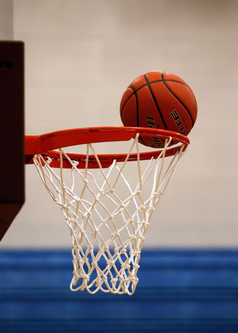 basketball, net, score